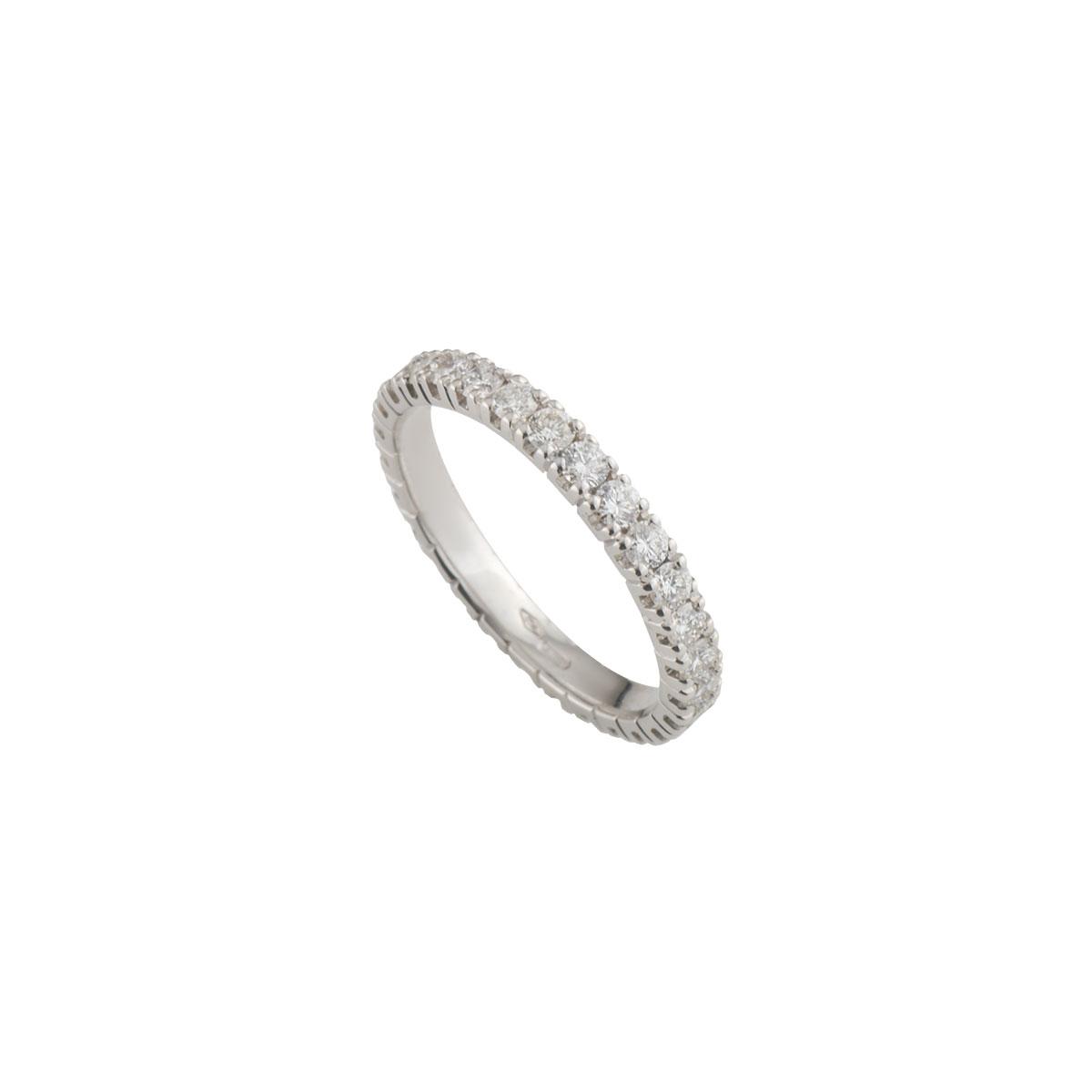 White GoldDiamond Ring 1.15ct G/VS